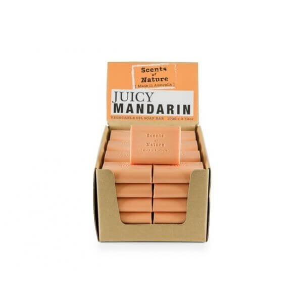 5 x Juicy Mandarin Soap Bar 100g
