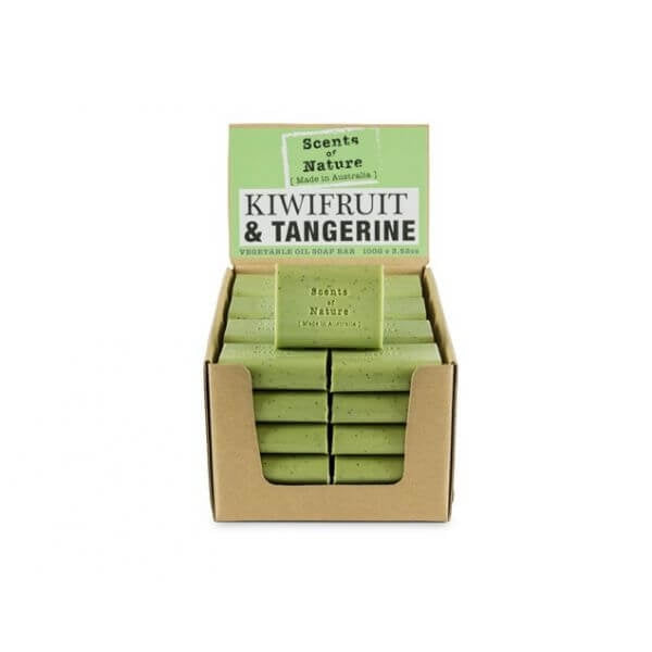 5 x Kiwifruit & Tangerine Soap Bar 100g