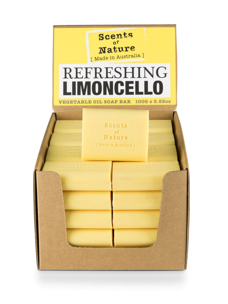 5 x Refreshing Limoncello Soap Bar 100g