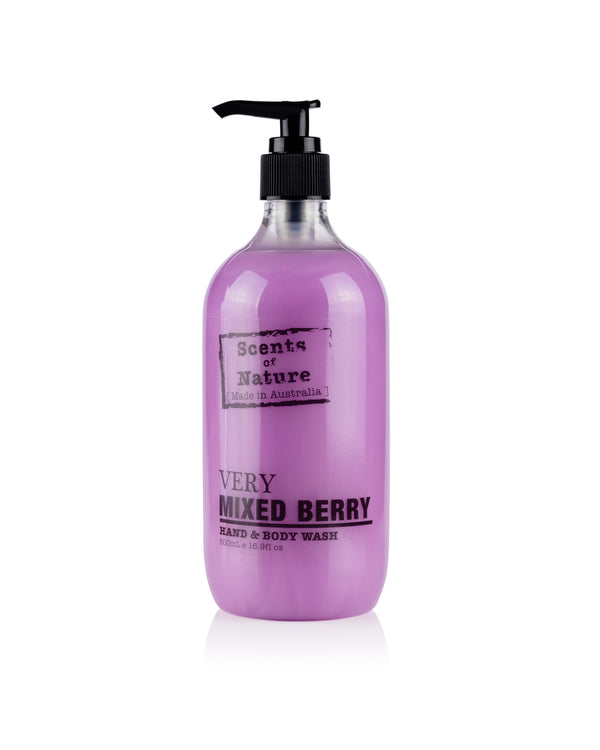 Mixed Berry Hand & Body Wash 500mL