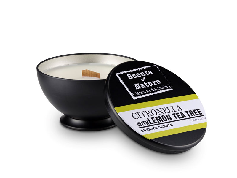 Citronella with Lemon Tea Tree Outdoor Candle 280g