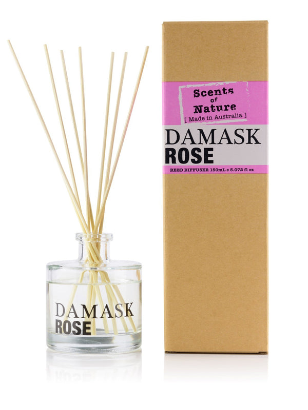 Damask Rose Reed Diffuser 150mL