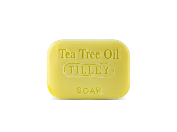 5 x Tea Tree Soap (Stamped) 100g