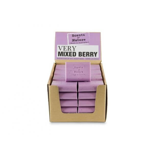 5 x Very Mixed Berry Soap Bar 100g