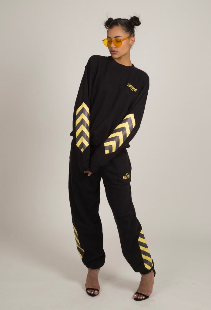 CAUTION SWEATSUIT