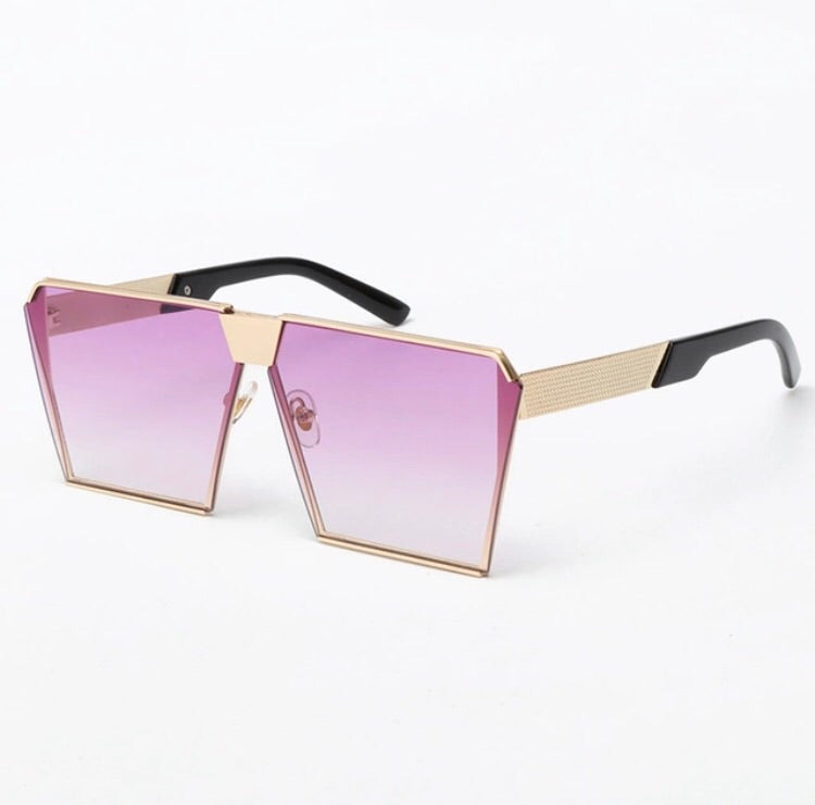 PURPLE SLAYER SUNGLASSES