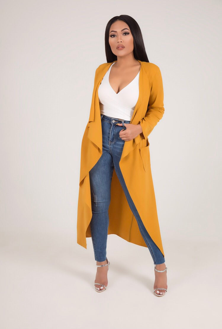 SIENNA TRENCH COAT (MORE COLOURS)