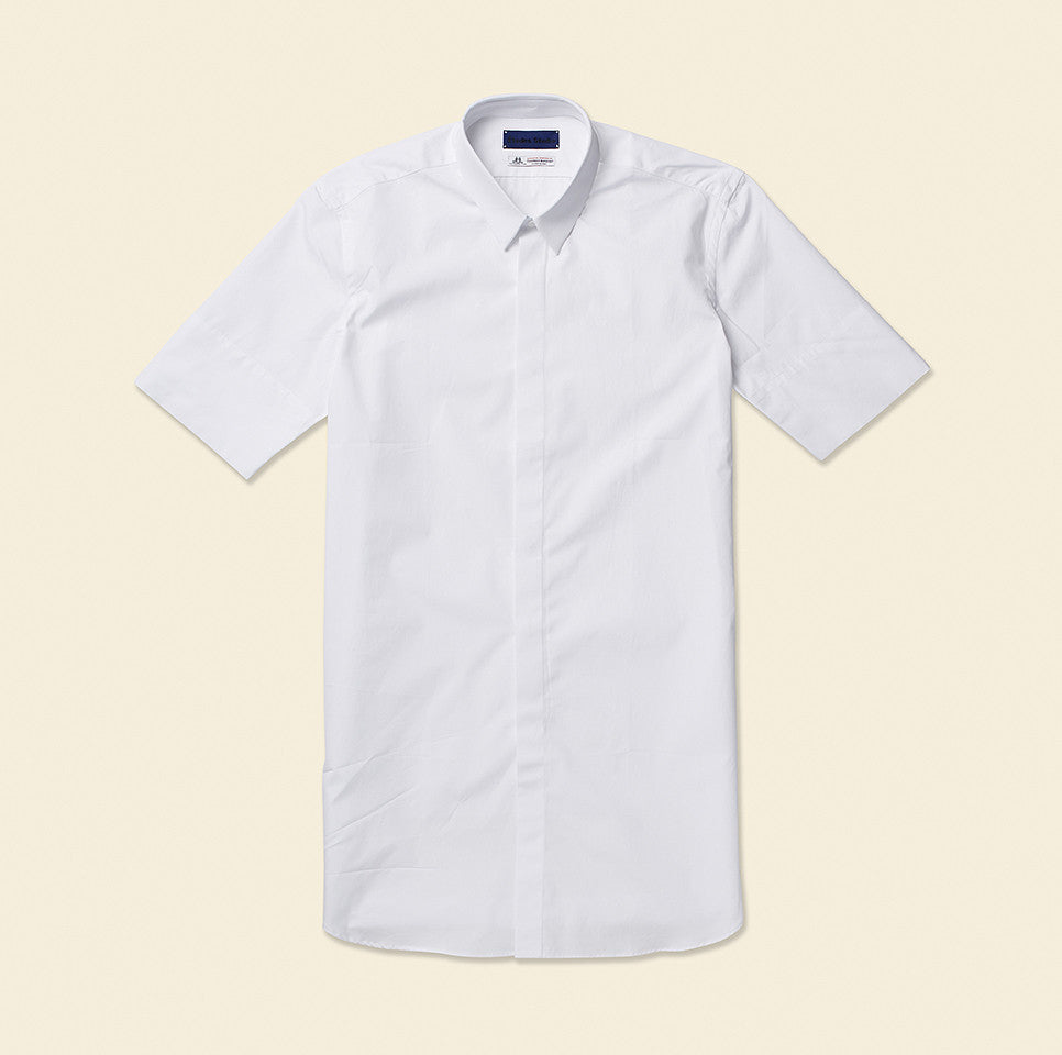 Shape White Short Sleeve
