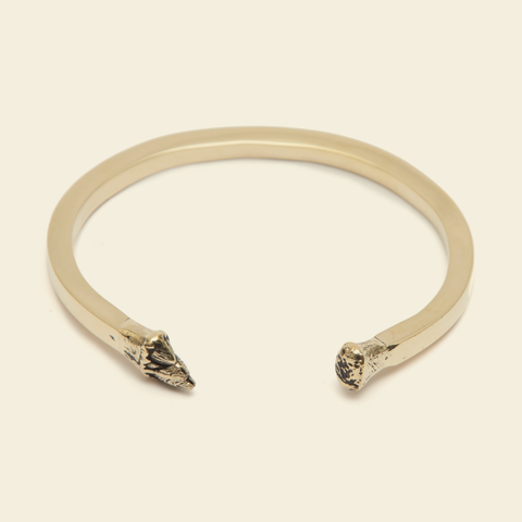The Percebe Brass Cuff