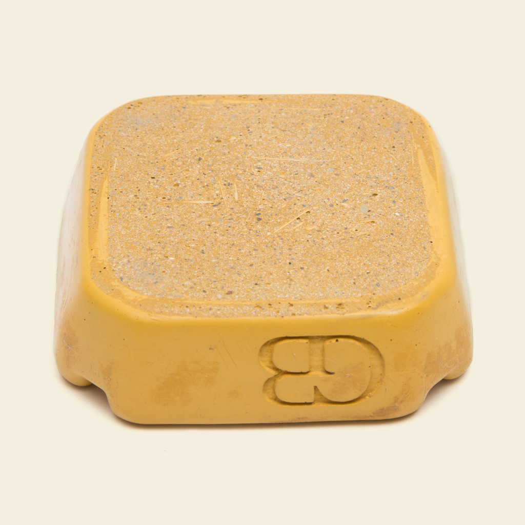 GB Concrete Ashtray Yellow