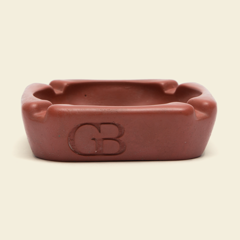 GB Concrete Ashtray Red