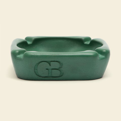 GB Concrete Ashtray Green