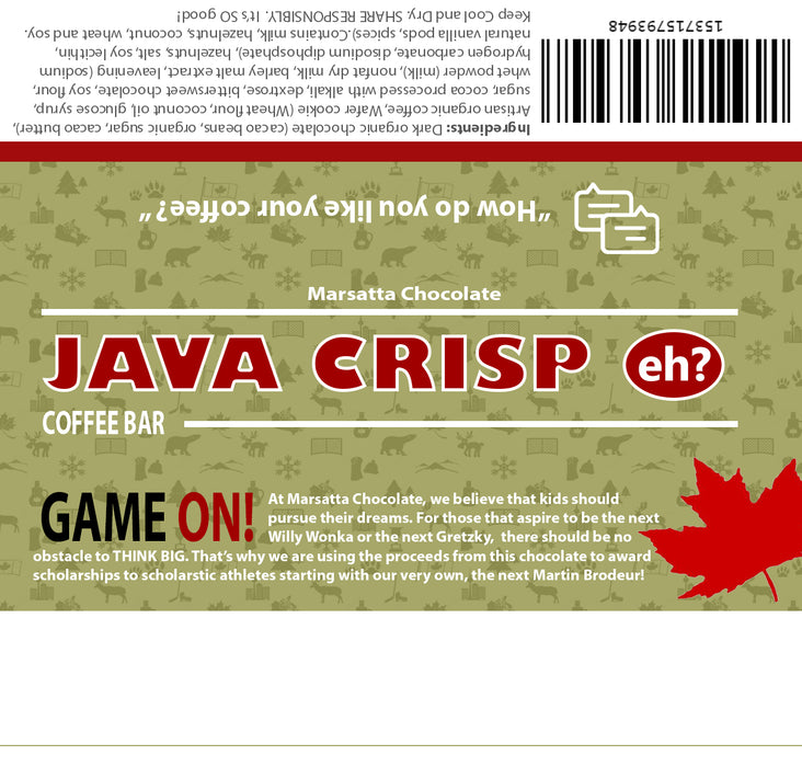 Java Crisp Coffee Bar