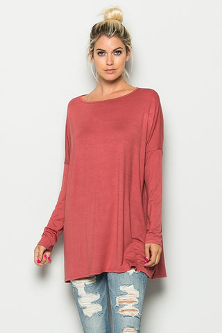 Piko Long Sleeve Top