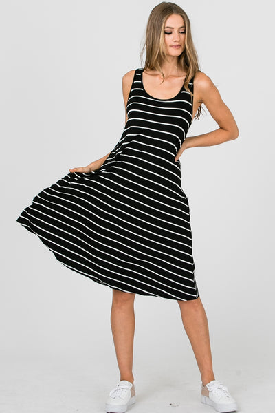 Midi Stripe Dress