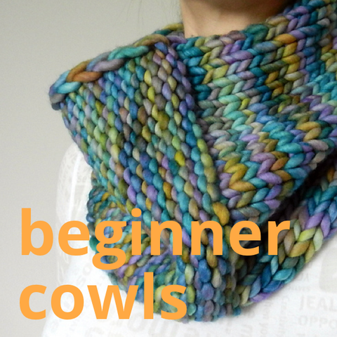 Beginner Knitting Workshop (Cowls)