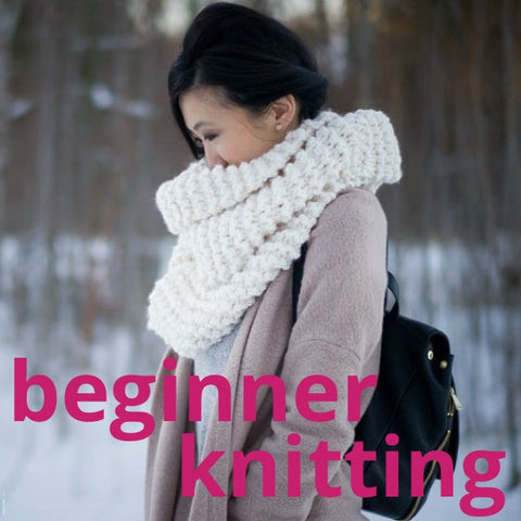 Beginner Knitting Workshop (Scarves)