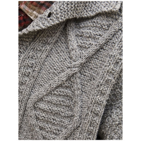 Daron Men's Cabled Cardigan PRE-ORDER