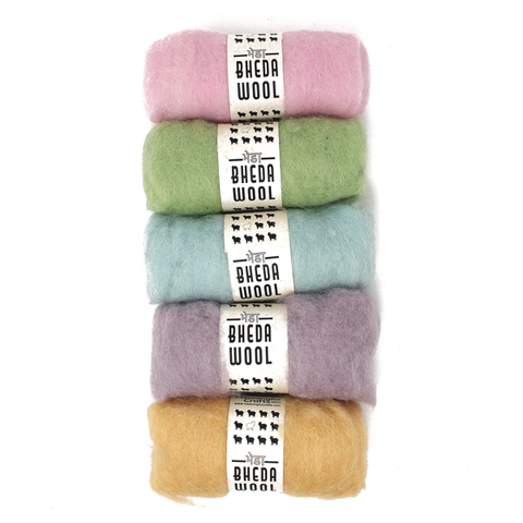 Bheda Wool Roving Kits
