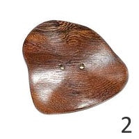 Buttons: Wood Freeform 55mm