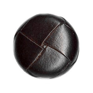Buttons: Leather-look 18mm/shank