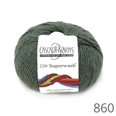 Cascade 220 Superwash Heathered Colours
