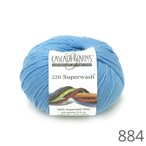 Cascade 220 Superwash Solid Colours