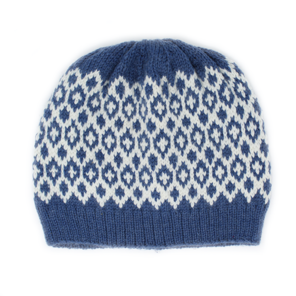 Reflections Fair Isle Hat Project
