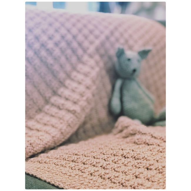 Cuddly Baby Blanket PROJECT