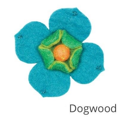 Feltworks Felted Embellishments: Large Flowers CLEARANCE