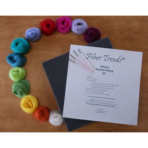 Fiber Trends Needle Felting Kits (Sets)