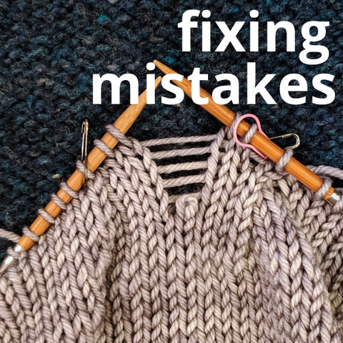 NEW Fixing Your Mistakes!