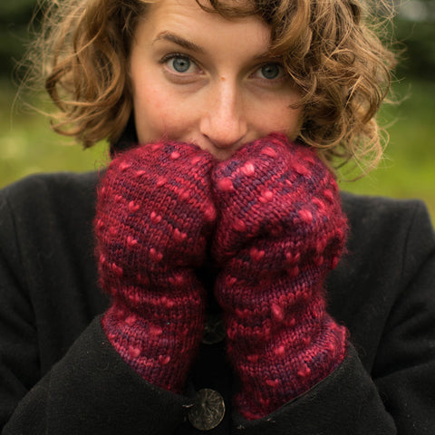 Fleece Artist Classic Thrum Mitts Kit DISCONTINUED