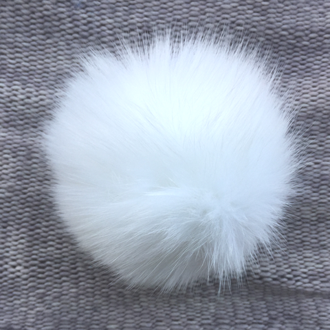 Pompoms Fox Fur