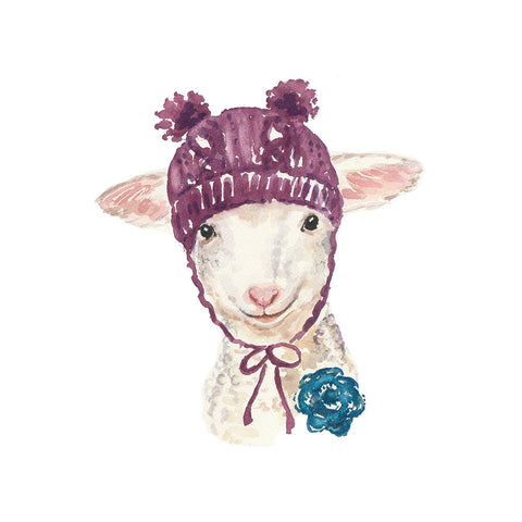 Knitterly Greeting Cards: Animals