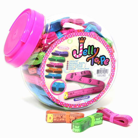 Jelly Tape Measures