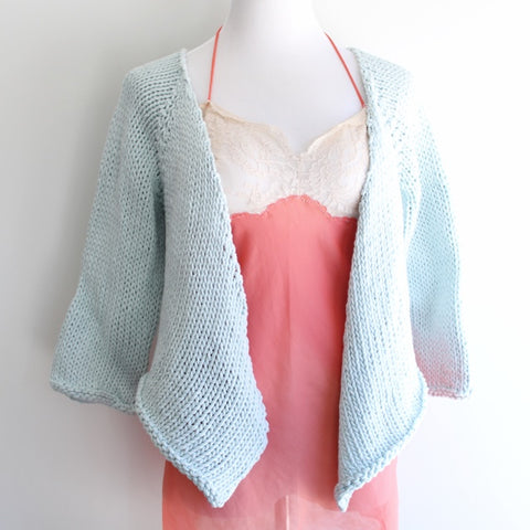 Instant Gratification Cardi Jacket Pattern FREE