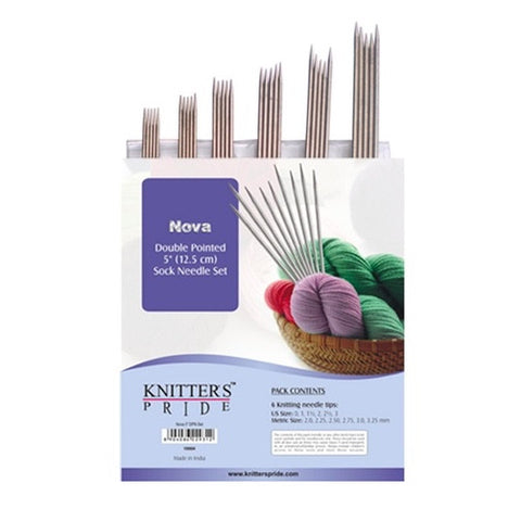 Knitters Pride Double Pointed Needle Sets (Sock Kit) Nova METAL