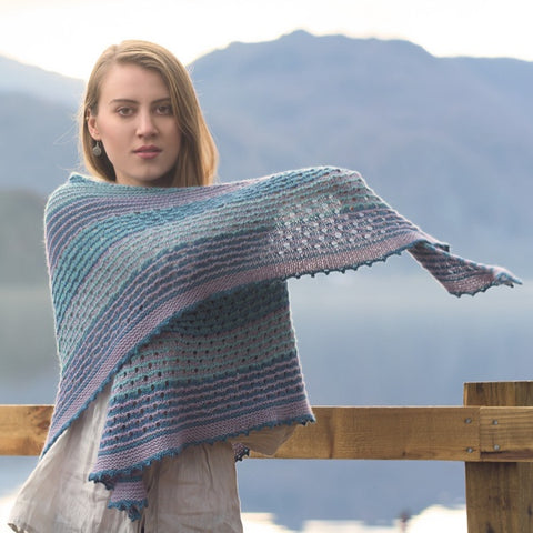 Fibre Co Kelso Shawl Project