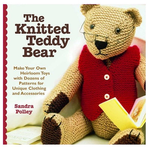 The Knitted Teddy Bear OUT OF PRINT