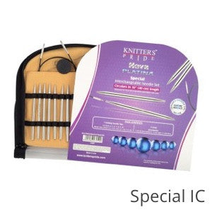 Knitter's Pride Nova Platina Chrome Interchangeable Needle SETS