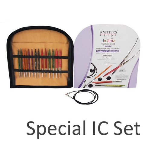 Knitters Pride Dreamz Symfonie Wood Interchangeable Circular Needle SETS