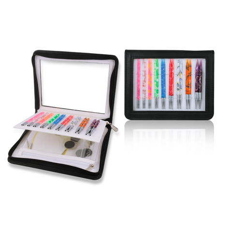 Knitter's Pride Marblz Interchangeable Deluxe Needles SET