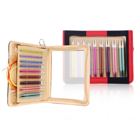 Knitter's Pride Zing Interchangeable Deluxe Needles SET