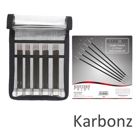 Knitters Pride Double Pointed Needle Set (Sock Kit) KARBONZ