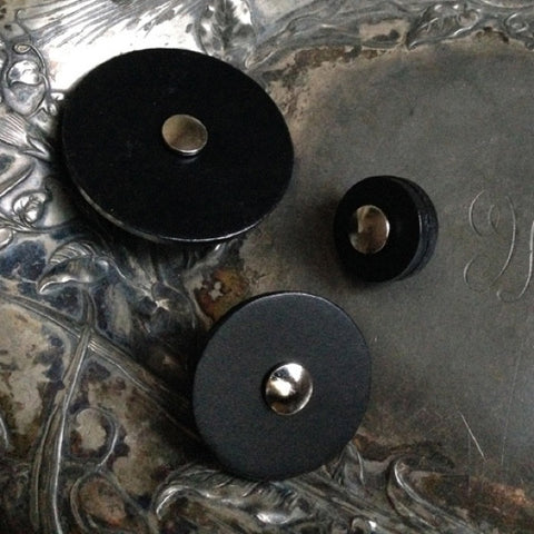 JUL Designs Leather Pedestal Buttons