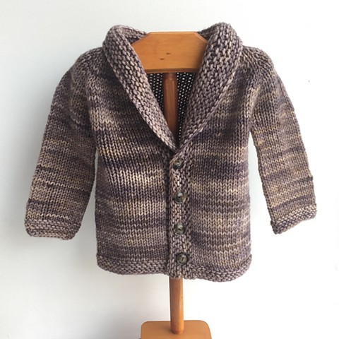 NEW  Intro to Sweaters: Baby/Child Cardigan