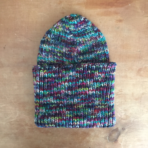 Simple Ribbed Hat Pattern FREE
