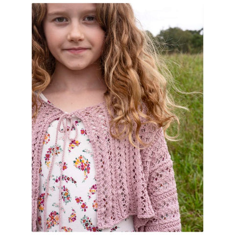 Berroco Navia Kids & Adult Lace Cardigan Kit PRE-ORDER