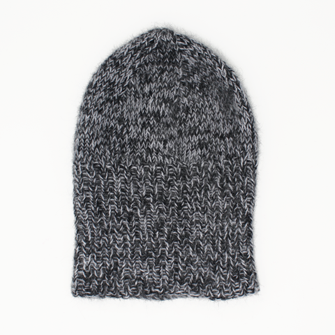 Slouchy Angora Hat Project